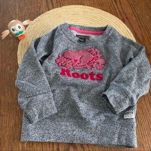 Roots Kids 2T Girls Warm LongSleeve Sweatshirt